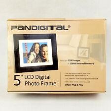 Pandigital 5.6 inch LCD Digital Photo Frame - Black - 128MB Memory & Remote