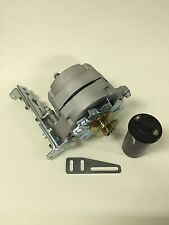 "New Willys Jeep Alternator One 1 Wire 12V 65A, 5/8"" Pulley, Bracket, Coil"