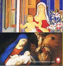 Bund: Markenheftchen ** postfrisch Caritas 10x 2226 - 2227 Wohlfahrt 2001 [7534]