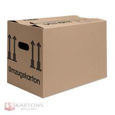 Umzugskartons Karton 2-WELLIG! Doppelter Boden, verstärkte Griffe, top!!!