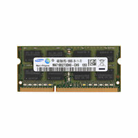 memoria de 4 GB PC3-10600S DDR3 SDRAM 1333MHz 204Pin CL9 So-dimm para Samsung