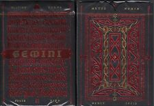 Gemini Ignis Playing Cards Poker Size Deck EPCC Stockholm17 Custom Limited New