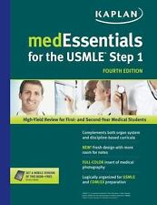 MedEssentials for the USMLE Step 1, Kaplan, Very Good Book