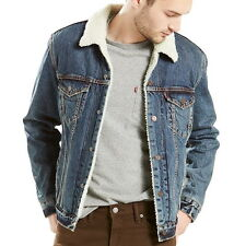 Levi's Men's Denim Sherpa Lined Trucker Jacket - XXXL
