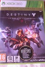 """JEU XBOX 360 """"Destiny : Le Roi des Corrompus"""" (Édition Légendaire) NEUF BLISTER"""