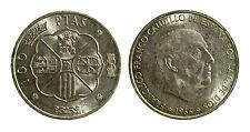 pcc1963_5) SPAGNA Franco Caudillo 1966 - 100 PESETAS 1966 (66)