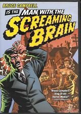 Man With The Screaming Brain (DVD) Bruce Campbell - Anchor Bay Release