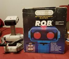 Nintendo NES ROB Robotic Operating Buddy with Box and Manuals Paperwork