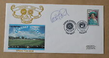 CRICKET TOURS ENGLAND NEW ZEALAND INDIA 1990 COVER SIGNED BY GRAHAM GOOCH