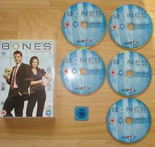 5 DVD `s _  BONES _ SEASON THREE [ English Language ] _ 789 Minuten Laufzeit