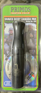 Primos Shaved Reed Canada Goose Call Reproduces Multiple Sounds #830