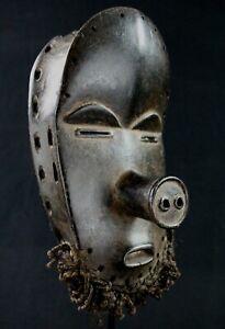 Art African tribal - Mask Dan Pig African-American Kunst Maske African 27 CMS