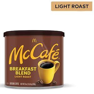 McCafé Breakfast Blend Light Roast Ground Coffee 30 oz Canister