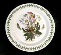 Beautiful Portmeirion Botanic Garden Christmas Rose Dinner Plate, As New