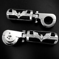 """1.25"""" Highway Eagle Foot Peg P-Clamps For Honda GoldWing GL1800 1500 1200 1100"""