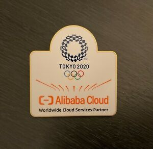 Tokyo 2020 Alibaba huge sponsor pin