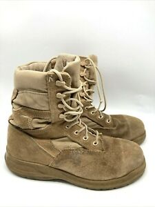 Belleville 310 ST Mens Combat Steel Toe Hot Weather Boots Brown Size 10W