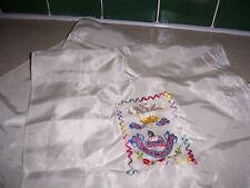 El príncipe de Gales voluntarios Egipto Bordado Costura Bufanda con flecos