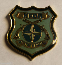 military pin mp military police kfor kosovo nato otan
