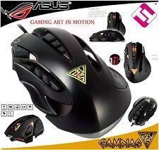 Mouse Gaming Gamdias Zeus Professional GMS1100ES Optical 8200 Dpi Programmable