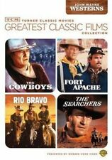 TCM Greatest Classic Films Collection John Wayne Westerns 2 Di 2009 DVD