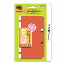 HORI Silicone (mochihada) Cover for Nintendo 3DS LL XL White Red Japan