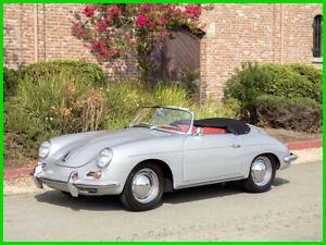 1962 Porsche 356 356B T6 TWIN-GRILLE ROADSTER