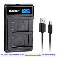Kastar Battery LCD Dual Charger for NP-45A NP-45B NP-45S Fujifilm FinePix JZ100