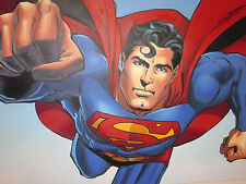 Superman 40x28 oil painting NOT print, Man of Steel, Batman Framing available.