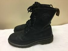 317ba9130 R. Ferrini Women Leather black ankle lace up Boot size EU 38