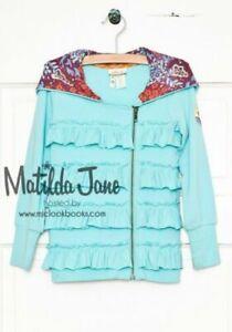 NWT Matilda Jane Secret Fields Run With Me Ruffle Jacket Size 10