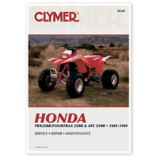 HONDA ATC250R, TRX250R ATC TRX 250R 85-89 REPAIR,SERVICE SHOP MANUAL BOOK, M348