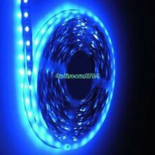 Warm White Blue RGB LED Strip Lights SMD 5050 3528 5m 300 LEDs 12V Flexible 89F
