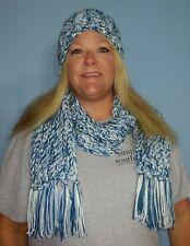 Crocheted Ear Warmer / Messy Bun / Ponytail Headband