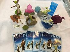 KINDER FERRERO SURPRISE ICE AGE SET EASTER MAXI FIGURES CAKE TOPPER SCRAT SID