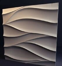 subtlety Plastic Molds for 3 D Panels  Plaster wall stone Form decor wall panels
