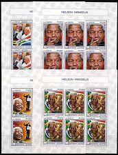 SIERRA LEONE 2017 NELSON MANDELA  SHEET SET   NH