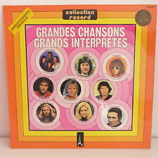 Compil Grandes chansons Grands interpretes POLNAREFF / C JEROME / PETULA CLARK /