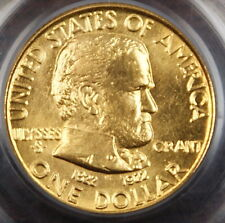 1922 Grant Gold $1 No Star, PCGS MS-64 (Better Coin)ï¾