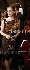 $2350 Prada AUTH Amazing Printed Silk Sleeveless Gathered Wrap Dress 38 NWT