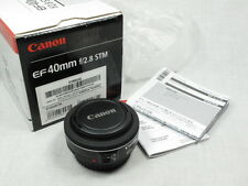 CANON EF 40mm STM F2.8 LENS NEW W/BOX