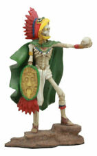 Skeleton Mexican Aztec Eagle Warrior Day of The Dead Dia De Los Muertos Figurine