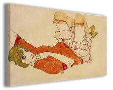 Quadro moderno Egon Schiele vol XXII stampa su tela canvas pittori famosi