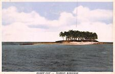 Nassau Bahamas Sandy Cay Postcard 1930s Quantiy Printed & Item Number