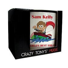 Mens Sailing Gifts, Personalised Sailing Mug, Crazy Tony's, Mans Sailing Present