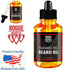 Beard Growth Oil Conditioner 100% ORGANIC FRAGRANCE FREE by Rogue Beard 1oz