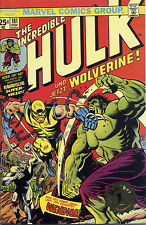 THE INCREDIBLE HULK #181 (WOLVERINE 1) GOLD-STAMP-VARIANT limited GERMAN REPRINT