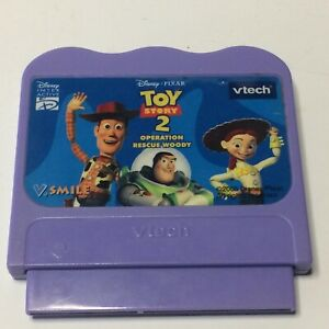 2005 Vtech V.smile Disney Pixar Toy Story 2 Operation Rescue Woody Learning Game
