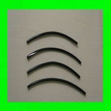 "MWMotors BLACK DOOR EDGE GUARD TRIM FOR KIA MOLDING PROTECTOR 4 QTY OF 8"" WRNTY"