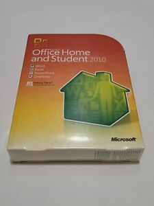 Microsoft Office Home Student 2010 Software for Windows (79G-02144) new sealed